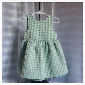 Cat & jack Infant Baby Girl Formal Dress